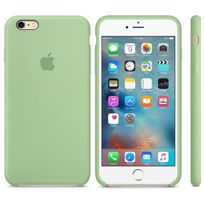 Чехол Apple iPhone 6 Plus/6s Plus Silicone Case - Mint MM692ZM/A