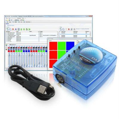 Sunlite Мини USB/DMX интерфейс SLESA-U8