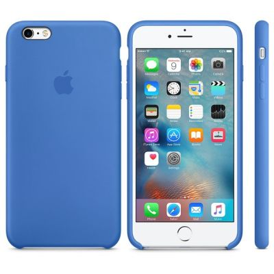 Чехол Apple iPhone 6 Plus/6s Plus Silicone Case - Royal Blue MM6E2ZM/A