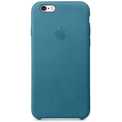 ����� Apple ��� iPhone 6/6s Leather Case - Marine Blue MM4G2ZM/A
