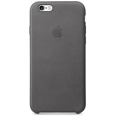 Чехол Apple iPhone 6/6s Leather Case - Storm Gray MM4D2ZM/A