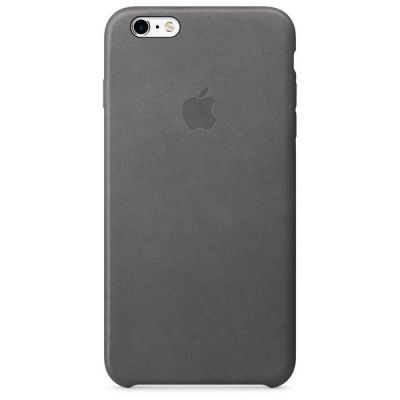 ����� Apple iPhone 6 Plus/6s Plus Leather Case - Storm Gray MM322ZM/A