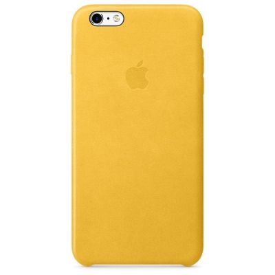 Чехол Apple iPhone 6 Plus/6s Plus Leather Case - Marigold MMM32ZM/A