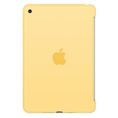 Чехол Apple для iPad mini 4 Silicone Case - Yellow MM3Q2ZM/A
