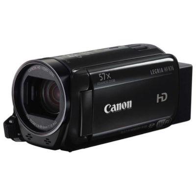 Видеокамера Canon Legria HF R76 черный 1237C004