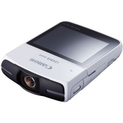 Видеокамера Canon Legria Mini белый 8455B052