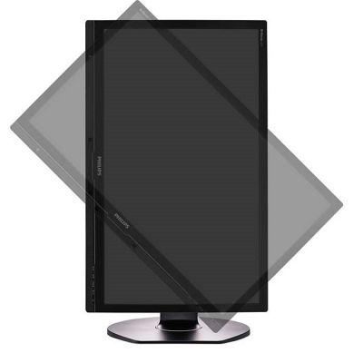Монитор Philips 241P6EPJEB/00 Black с поворотом экрана