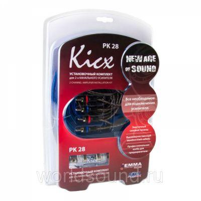 Kicx Установочный комплект для установки 2-х канального усилителя PK 28