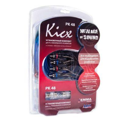 Kicx Установочный комплект для установки 4-х канального усилителя PK 48