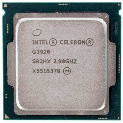 Процессор Intel Celeron G3920 Skylake (2900MHz, LGA1151, L3 2048Kb) CM8066201928609S R2HX