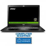 Ноутбук MSI WS72 6QI-201RU 9S7-177625-201