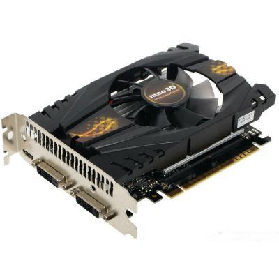 Видеокарта Inno3D 2Gb <PCI-E> GTX750Ti <GFGTX750Ti, GDDR5, 128 bit, HDCP, 2*DVI, mini HDMI, Retail> N75T-1DDV-E5CW