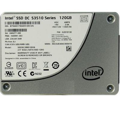 """SSD-диск Intel 120 Gb SATA 6Gb / s Intel DC S3510 Series 2.5"""" ML SSDSC2BB120G601"""