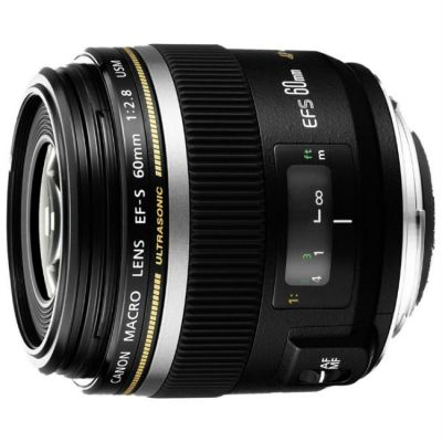 Объектив для фотоаппарата Canon EF-S 60mm f/2.8 Macro USM 0284B007