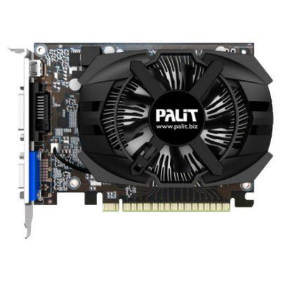 ���������� Palit GeForce GT 740 993Mhz PCI-E 3.0 2048Mb 5000Mhz 128 bit DVI Mini-HDMI HDCP NE5T74001341-1073F
