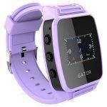 Gator Детские часы телефон с GPS трекером фиолетовые WH01-PURPLE