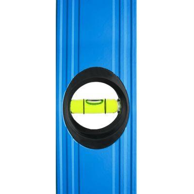 Уровень Практика строительный серия Профи, 1200 мм, профиль 22 x 51 мм, 3 глазка, точность 0,5 мм/м 242-809