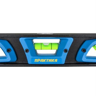 Практика Уровень строительный серия Профи, 250 мм, Торпедо, 3 глаз 242-854