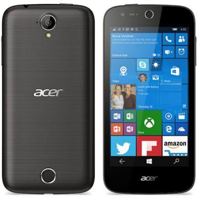 Смартфон Acer Liquid M330 8Gb LTE Черный HM.HTGEU.001