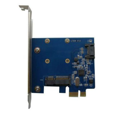 Контроллер Espada PCI-E, SATA3 1port int + mSata 1port, ASM1061 (PCIE020B)