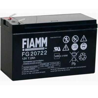 ����������� Fiamm FG 20722 (12V 7.2Ah) FI-FG12/7.2