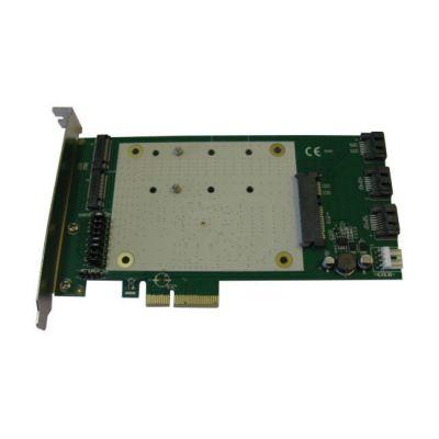 Контроллер Espada PCI-E, SATA3 RAID 3 int port /1 mSATA/2NGFF, HYPER DUO FG-EST19A-1