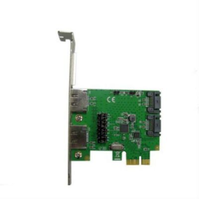 Контроллер Espada PCI-E to 2 port SATA3 (6Gb/s) + 2port eSATA, чип ASM1061, FG-EST10A-1