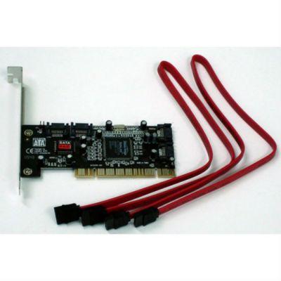 Контроллер Espada PCI - SATA 4 port, RAID, (chipset Silicon Image Si3114), with cabel, Espada, box FG-SA3114-4IR