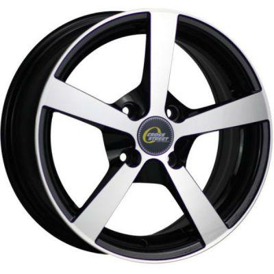 Колесный диск Cross Street Y201 5.5x13/4x98 ET35 D58.6 BKF