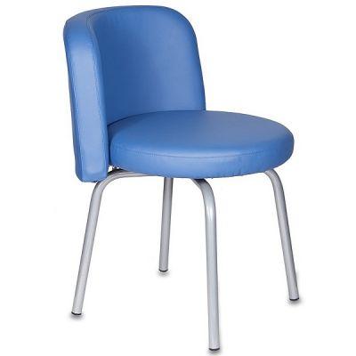 Офисное кресло Бюрократ KF-2 OR-03 вращающийся синий Or-03 искусственная кожа