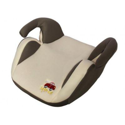 Детское автокресло Little Car бустер 02 В7 (гр.2-3, 15-36 кг) бежево-серый 9169016