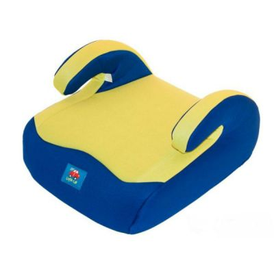 Детское автокресло Little Car бустер 02 С7 (гр.2-3, 15-36 кг) синий-желтый 9169017