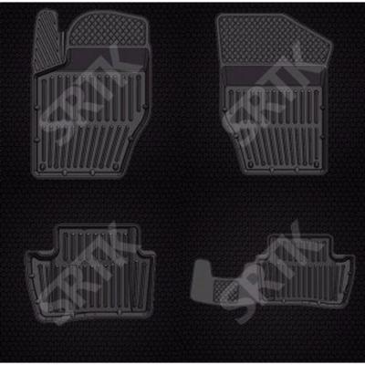 СРТК Коврики в салон Citroen DS 4 (12-) резиновые CITR.DS.12Г.02052 9169376