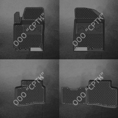 СРТК Коврики в салон Hyundai Elantra (06-) резиновые HY.ELAN.06-10Г.02021 9169388