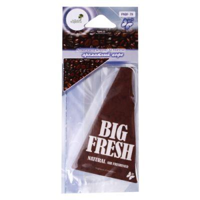 Big fresh Ароматизатор ароматный кофе (по 10 шт.) PABF-78 9160219