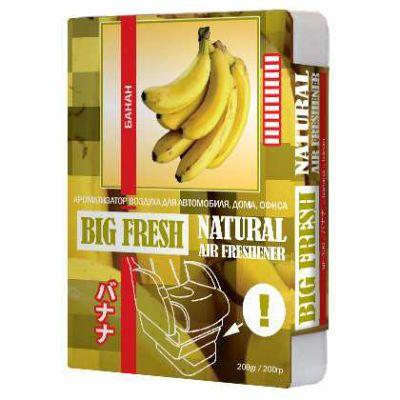 Ароматизатор Big fresh банан (200 гр) BF-130 9165164