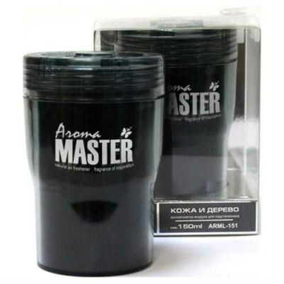 Aroma Master Ароматизатор в подстаканник кожа и дерево (150 мл) ARML-151 9168766