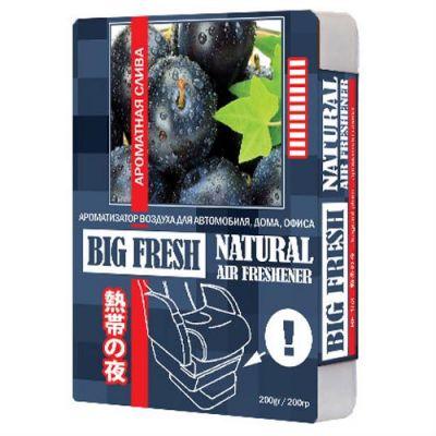 Big fresh Ароматизатор ароматная слива (200гр) BF-153 9168780