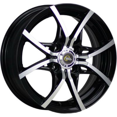 Колесный диск Cross Street Y5314 6.5x16/5x112 ET50 D57.1 BKF