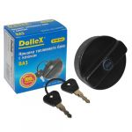 Крышка Dollex бензобака ВАЗ 2101-07,2121 с ключом хром KTB-007 9169260