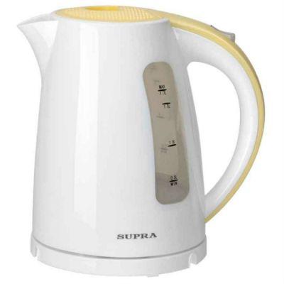Электрический чайник Supra KES-1726 white/yellow