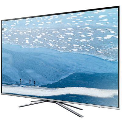 Телевизор Samsung 4K UHD UE49KU6400U Серебристый