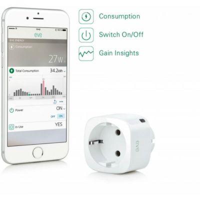 Elgato Eve Energy датчик для измерения энергопотребления 1EE108301001