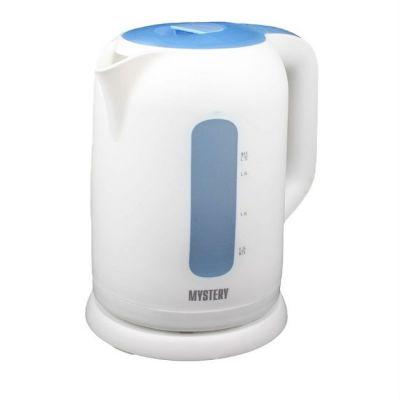 Электрический чайник Mystery MEK-1620 белый/голубой