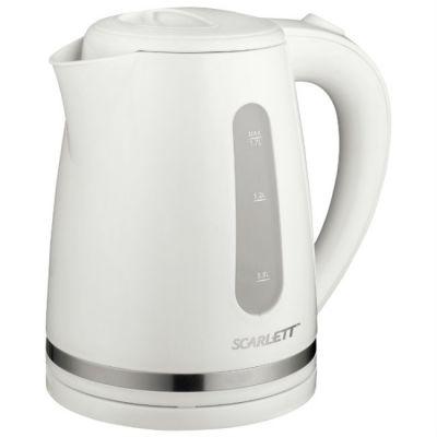 Электрический чайник Scarlett SC-EK18P34 белый