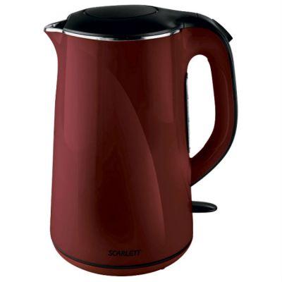 Электрический чайник Scarlett SC-EK21S05 бордовый