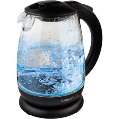 Электрический чайник Scarlett SC-EK27G15 черный