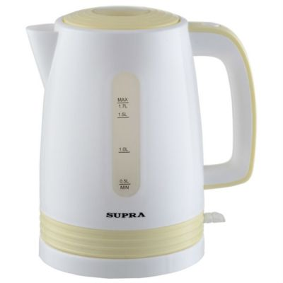 Электрический чайник Supra KES-1723 белый/желтый