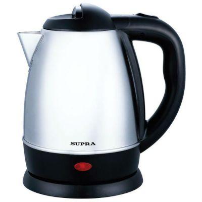 Электрический чайник Supra KES-1231C серебристый