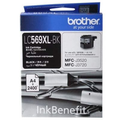 Картридж Brother Black/Чёрный (LC569XLBK)